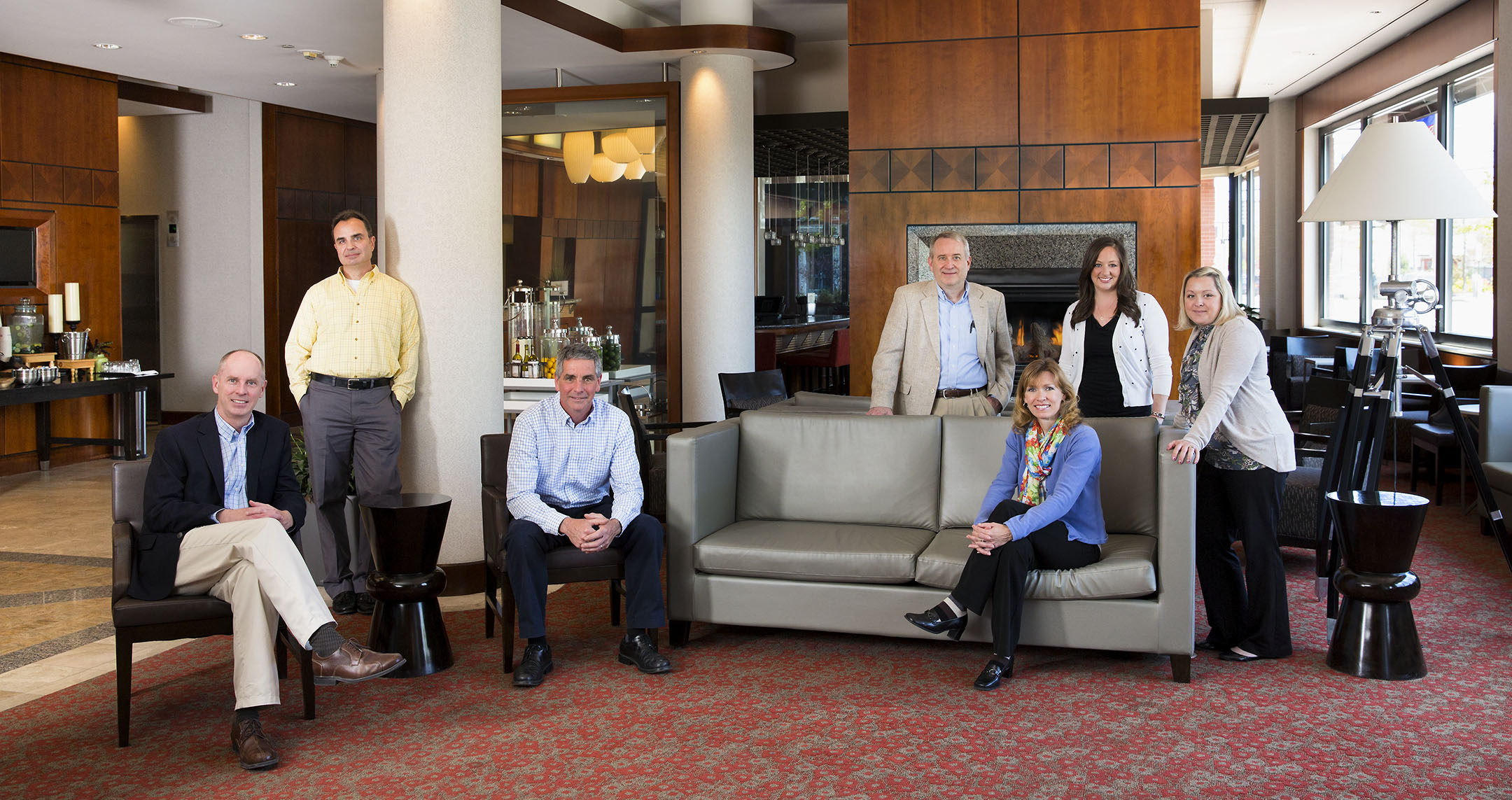 Group Portrait of MEMIC Hilton Garden Inn for Annual Report